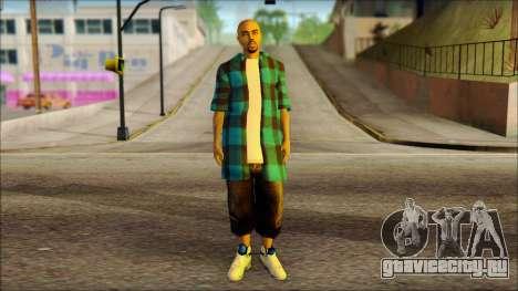 Los Aztecas Gang Skin v3 для GTA San Andreas