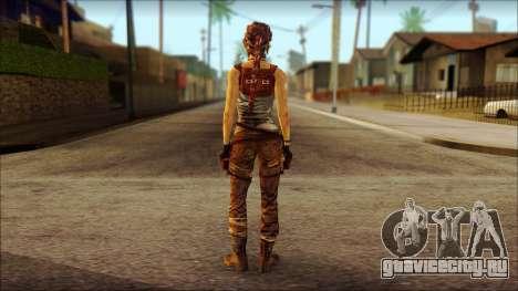 Tomb Raider Skin 7 2013 для GTA San Andreas второй скриншот