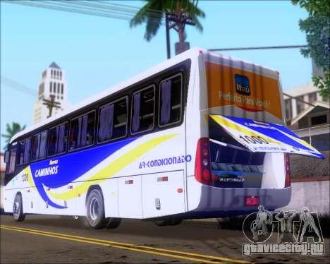 Marcopolo Ideale 770 - Volksbus 17-230 EOD для GTA San Andreas вид сбоку