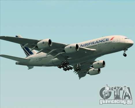 Airbus A380-861 Air France для GTA San Andreas вид сбоку