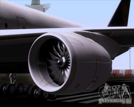 Boeing 747-830 Lufthansa - Fanhansa для GTA San Andreas вид снизу
