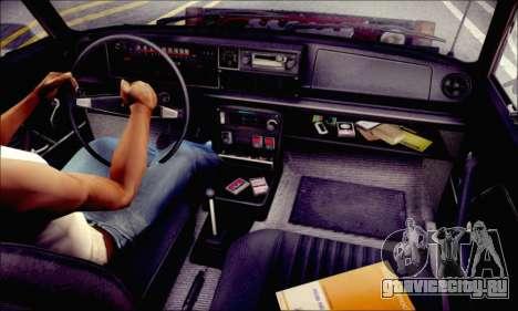 Fiat 125P Shark для GTA San Andreas вид сбоку