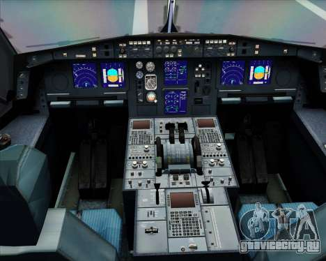 Airbus A330-300 Delta Airlines для GTA San Andreas вид сбоку