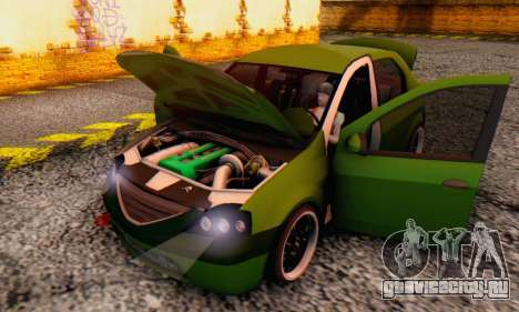 Dacia Logan MOR для GTA San Andreas вид сбоку