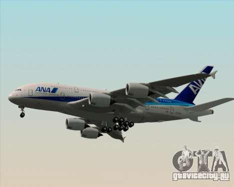 Airbus A380-800 All Nippon Airways (ANA) для GTA San Andreas вид сверху