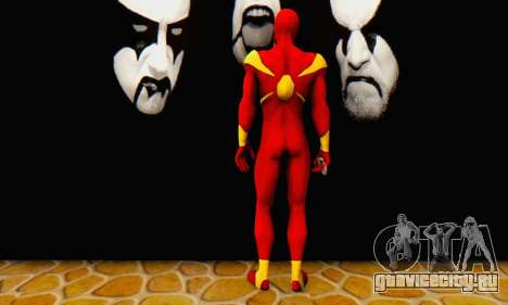 Skin The Amazing Spider Man 2 - DLC Iron Spider для GTA San Andreas третий скриншот