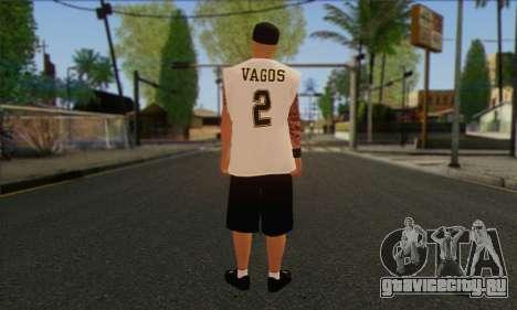 Vagos from GTA 5 Skin 1 для GTA San Andreas второй скриншот