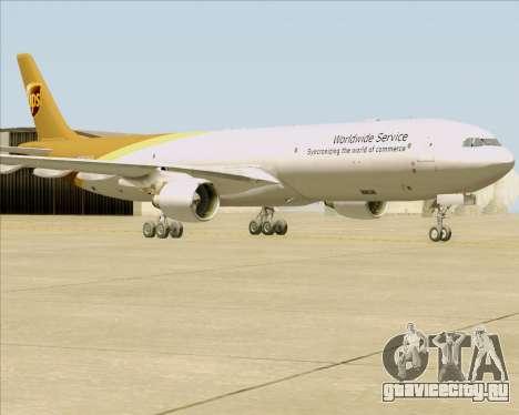 Airbus A330-300P2F UPS Airlines для GTA San Andreas вид слева
