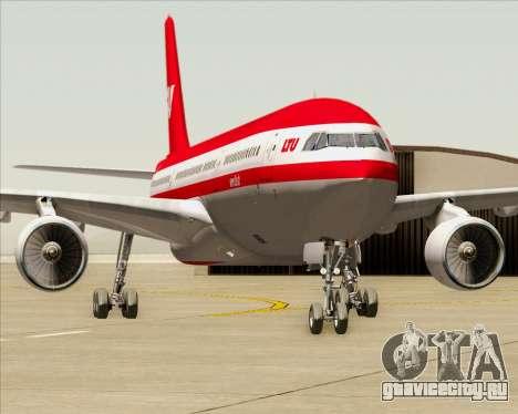 Airbus A330-300 LTU International для GTA San Andreas вид снизу