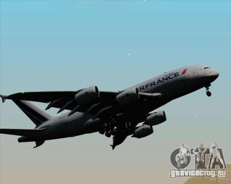 Airbus A380-861 Air France для GTA San Andreas