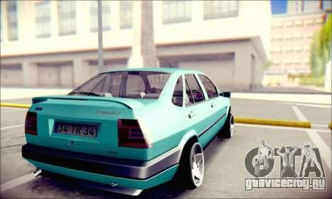 Fiat Tempra TR для GTA San Andreas вид сзади слева