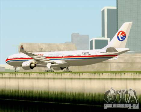 Airbus A330-300 China Eastern Airlines для GTA San Andreas вид сзади
