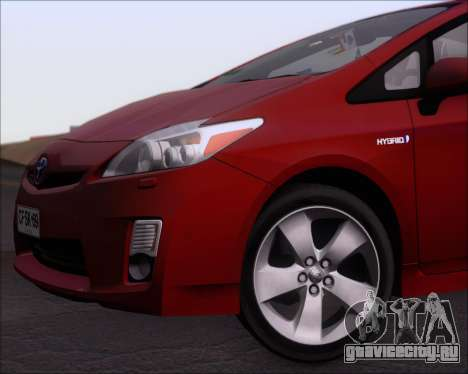 Toyota Prius для GTA San Andreas вид снизу