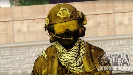 Боец OGA (MoHW) v1 для GTA San Andreas третий скриншот