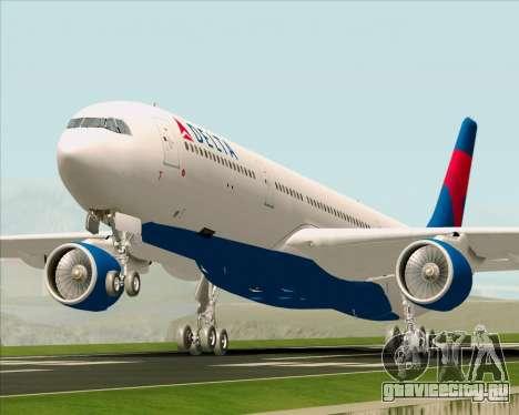 Airbus A330-300 Delta Airlines для GTA San Andreas
