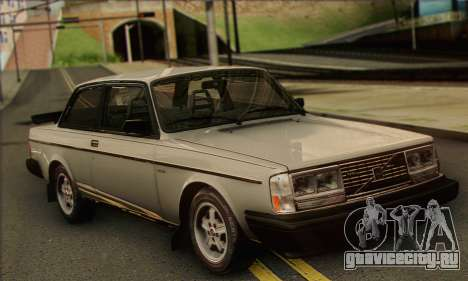 Volvo 242 Turbo 1983 для GTA San Andreas