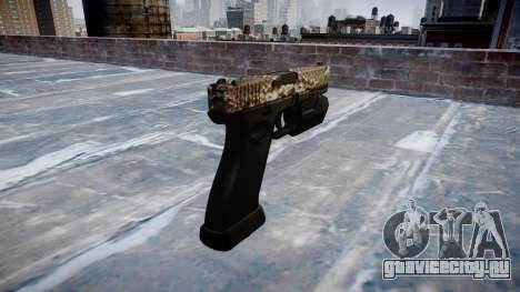 Пистолет Glock 20 viper для GTA 4 второй скриншот