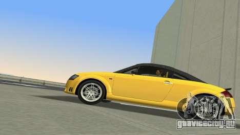 Audi TT Coupe BiMotor Black Revel для GTA Vice City