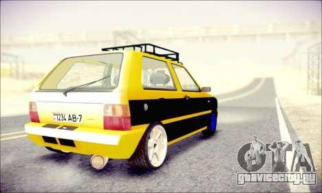 Fiat Uno для GTA San Andreas вид слева