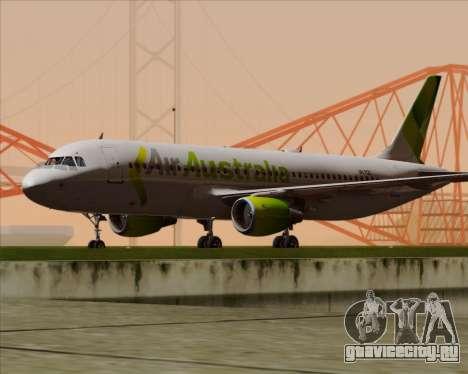 Airbus A320-200 Air Australia для GTA San Andreas вид сзади слева