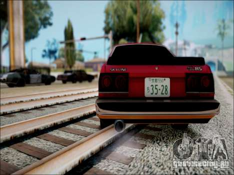 Nissan Skyline GT-R R30 для GTA San Andreas вид справа