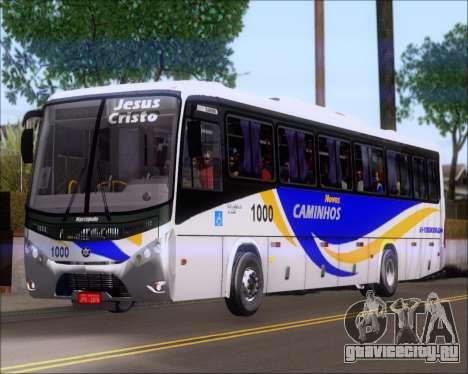Marcopolo Ideale 770 - Volksbus 17-230 EOD для GTA San Andreas вид сзади слева
