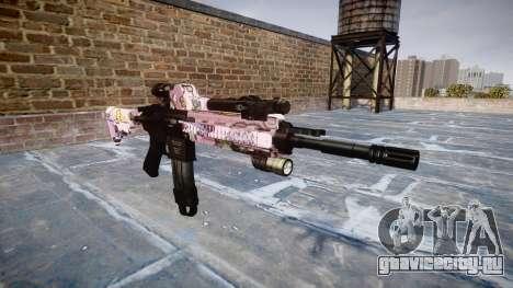 Автоматический карабин Colt M4A1 kawaii для GTA 4