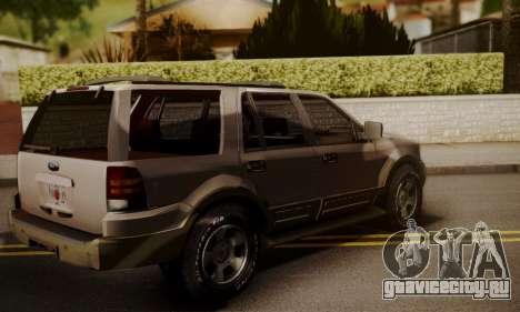 Ford Expedition 2006 для GTA San Andreas вид слева