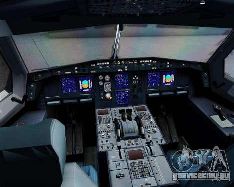 Airbus A340-312 TAP Portugal для GTA San Andreas вид сверху