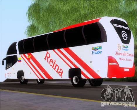 Golden Dragon Reina del Camino для GTA San Andreas вид сзади слева