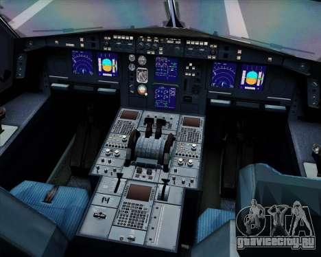 Airbus A330-300 LTU International для GTA San Andreas салон