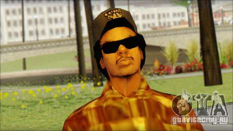 Eazy E Lumberjack Skin для GTA San Andreas третий скриншот