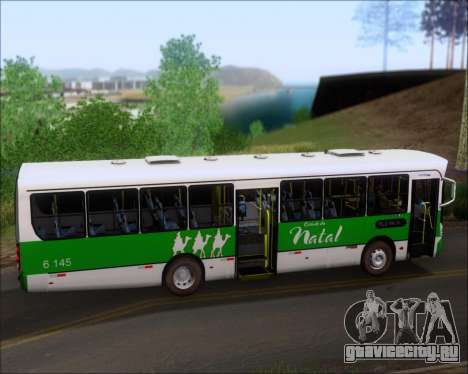 Caio Apache Vip II Mercedes-Benz OF 1722 для GTA San Andreas вид изнутри