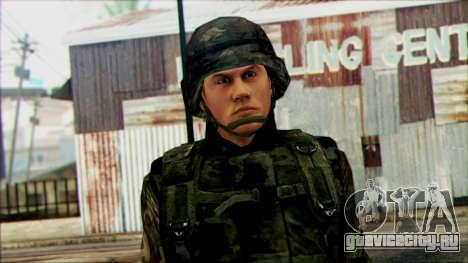 Солдат Национальной гвардии США (WIC) для GTA San Andreas третий скриншот