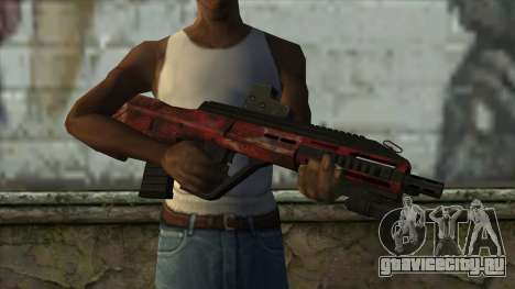 AUG A3 from PointBlank v5 для GTA San Andreas третий скриншот