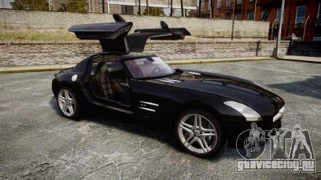 Mercedes-Benz SLS AMG [EPM] для GTA 4 вид изнутри