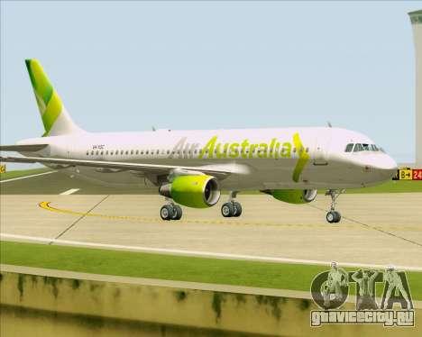 Airbus A320-200 Air Australia для GTA San Andreas колёса