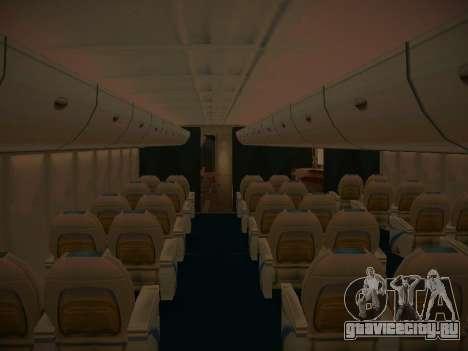 Airbus A380-800 Lufthansa для GTA San Andreas двигатель
