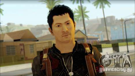 Wei Shen From Sleeping Dogs для GTA San Andreas третий скриншот