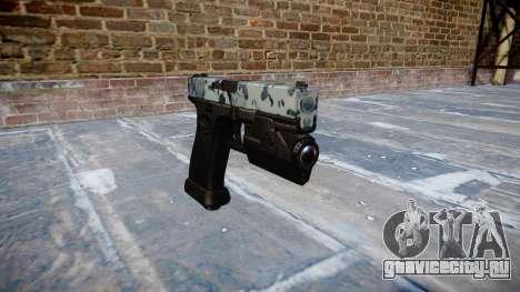 Пистолет Glock 20 skulls для GTA 4