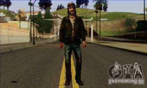 Kenny from The Walking Dead v3 для GTA San Andreas