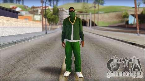 New CJ v4 для GTA San Andreas