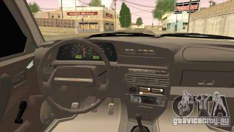 ВАЗ 2109 M1 Mixfight для GTA San Andreas вид сзади слева