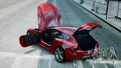 Ferrari FF для GTA 4 вид справа