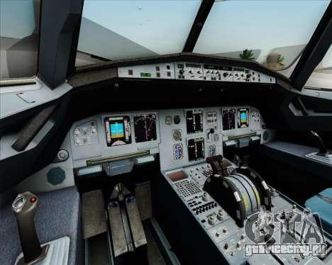 Airbus A320-211 Lufthansa для GTA San Andreas салон