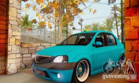 Dacia Logan Elegant для GTA San Andreas