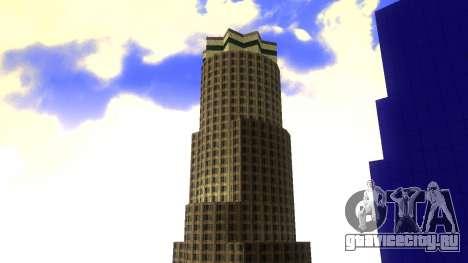 HD текстуры четырех небоcкребов в Лос Сантос для GTA San Andreas пятый скриншот