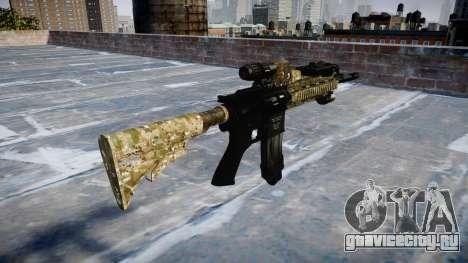Автоматический карабин Colt M4A1 devgru для GTA 4 второй скриншот