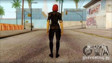 Mass Effect Anna Skin v5 для GTA San Andreas второй скриншот