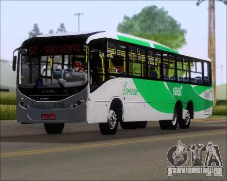 Comil Svelto BRT Scania K310IB 6x2 Sorocaba для GTA San Andreas салон